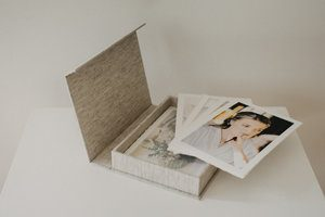 fine art deckled edge prints met bewaarbox