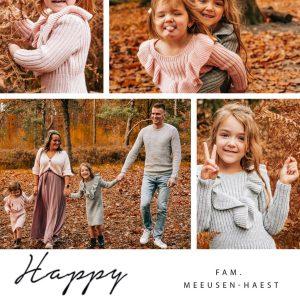 nieuwjaarskaart persoonlijke fotokaart